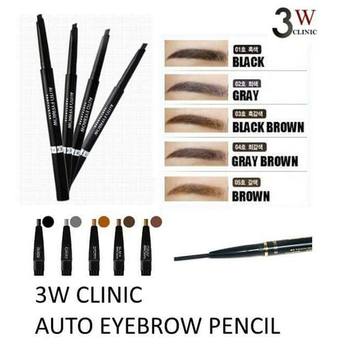 3W CLINIC AUTO EYEBROW PENCIL