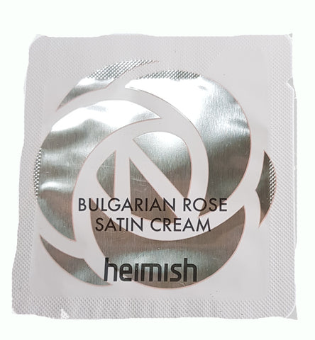 Heimish Bulgarian Rose Satin Cream Trial
