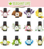 Elegant Life Plant Scented Oil Aromatherapy Water-soluble 10ml