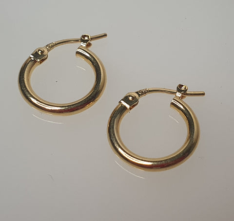 18k Loop 02 Earrings