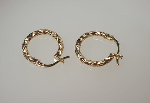 18k Loop 03 Earrings