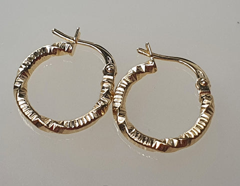 18k Loop 04 Earrings