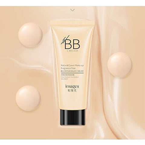 Images BB Cream natural cover makeup fragrance free blemish balm cream 40g