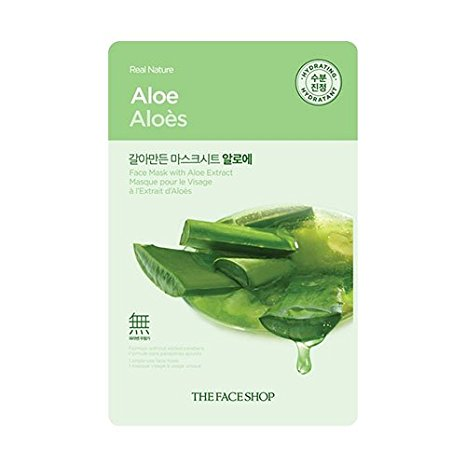 The Faceshop Real Nature Aloe Face Mask 20g