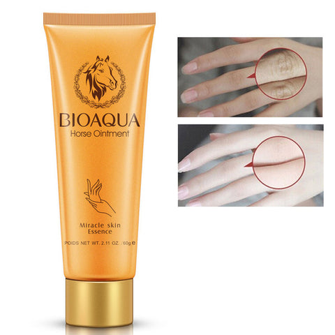 BIOAQUA Horse Oil Miracle Moisturizing Hand Cream Anti Aging Whitening Hand Lotion Cream For Hand Whitening Cream Skin Care