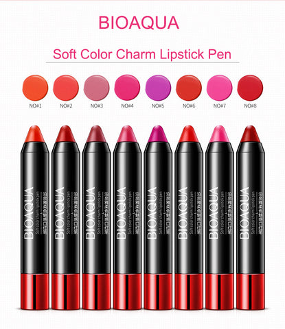 Bioaqua Soft Color Charm Lipstick Pen 3.8g