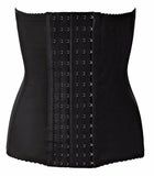 Black Magic Waist Corset 6 Rows Hooks With 7 Steel Boned Weight Loss Body Shaper