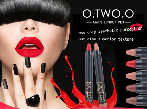 O.TWO.O Matte Lipstick Pen High Quality Long-lasting Waterproof