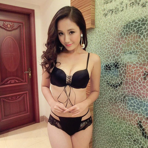 1520 Black Bra Set