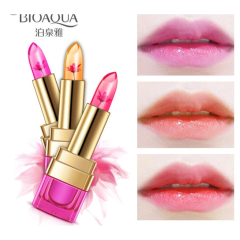 Bioaqua Black Chrysanthemum Jelly Temperature Lipstick Change