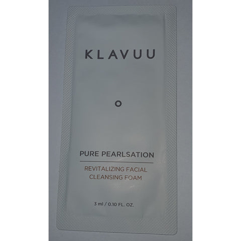 KLAVUU Pure Pearlsation Revitalizing Facial Cleansing Foam Trial size