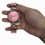 Rose Gold Runningvogue Band Watch