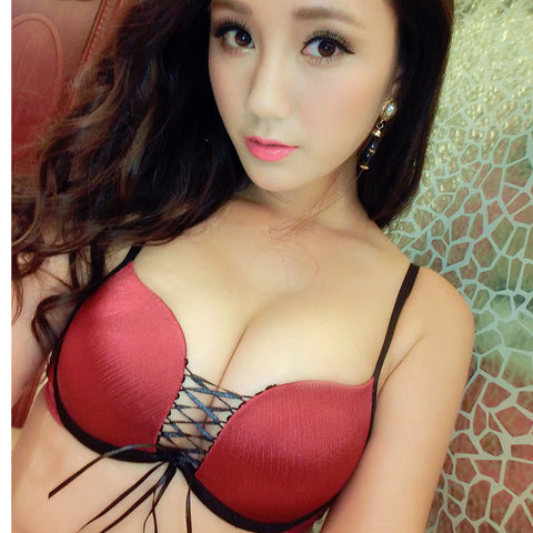 1520 Red Bra Set