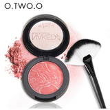 O.TWO.O New Baked Blusher Makeup Baking Blush Palette Highlighter Shading Powder