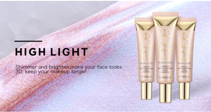 O.TWO.O High Beam Iuminescent complexion enhancer highlighter