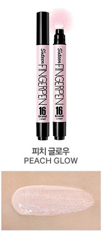 16BRAND Sixteen Finger Pen 5ml (#FS07 Peach Glow)