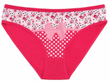 Cute Printed Briefs Cotton Panty 89202
