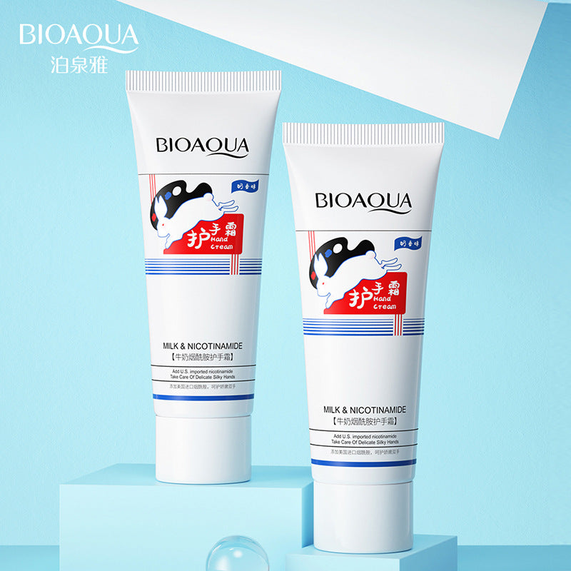 BIOAQUA Milk Niacinamide Hand Cream Lotions Nourishing Cream 40g