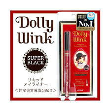 Koji Japan Dolly Wink Liquid Eyeliner Pen Super Black Waterproof