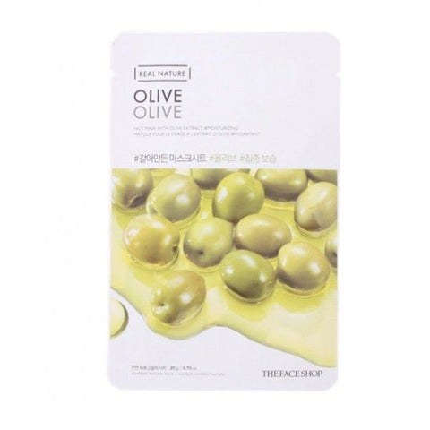 THE FACE SHOP Real Nature Mask Sheet Olive