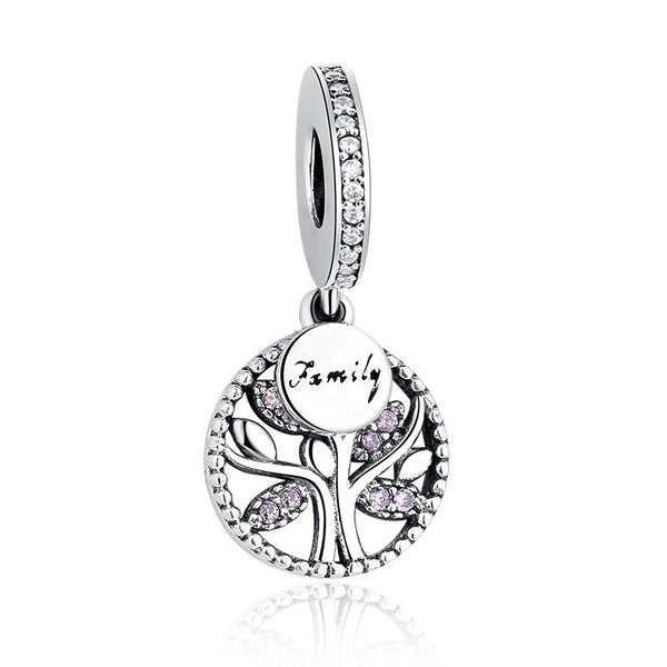 Sterling Silver Family Tree Charm