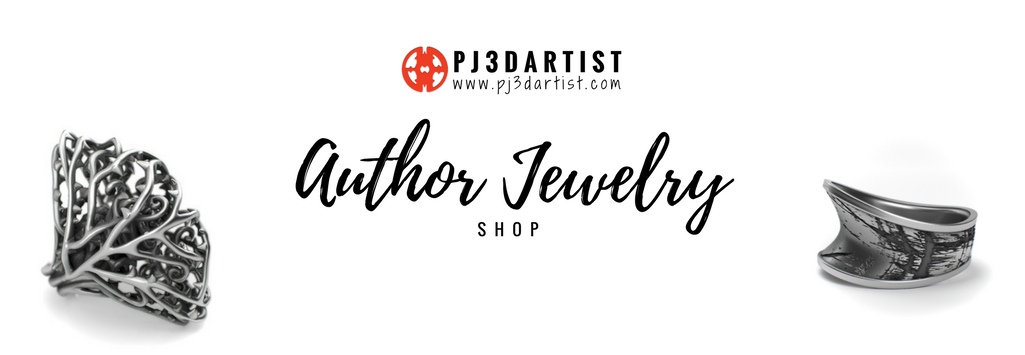 Author Jewelry Shop PJ3DArtist