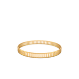 Gold Plated Bangle Bracelet - Gates