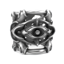 Sterling silver jewelry Ring design - Pulsar - Sterling Silver Ring - PJ3DArtist's Shop