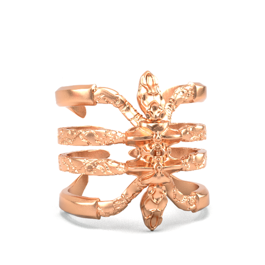 Gold Plated Ring - Recluse