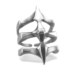 Two Spikes - Sterling Silver Ring - Sterling silver Ring - Silver jewelry design - PJ3DArtist's Shop