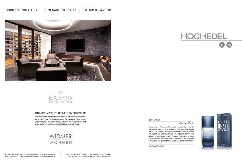 HOCHEDEL Magazine - Sample copy