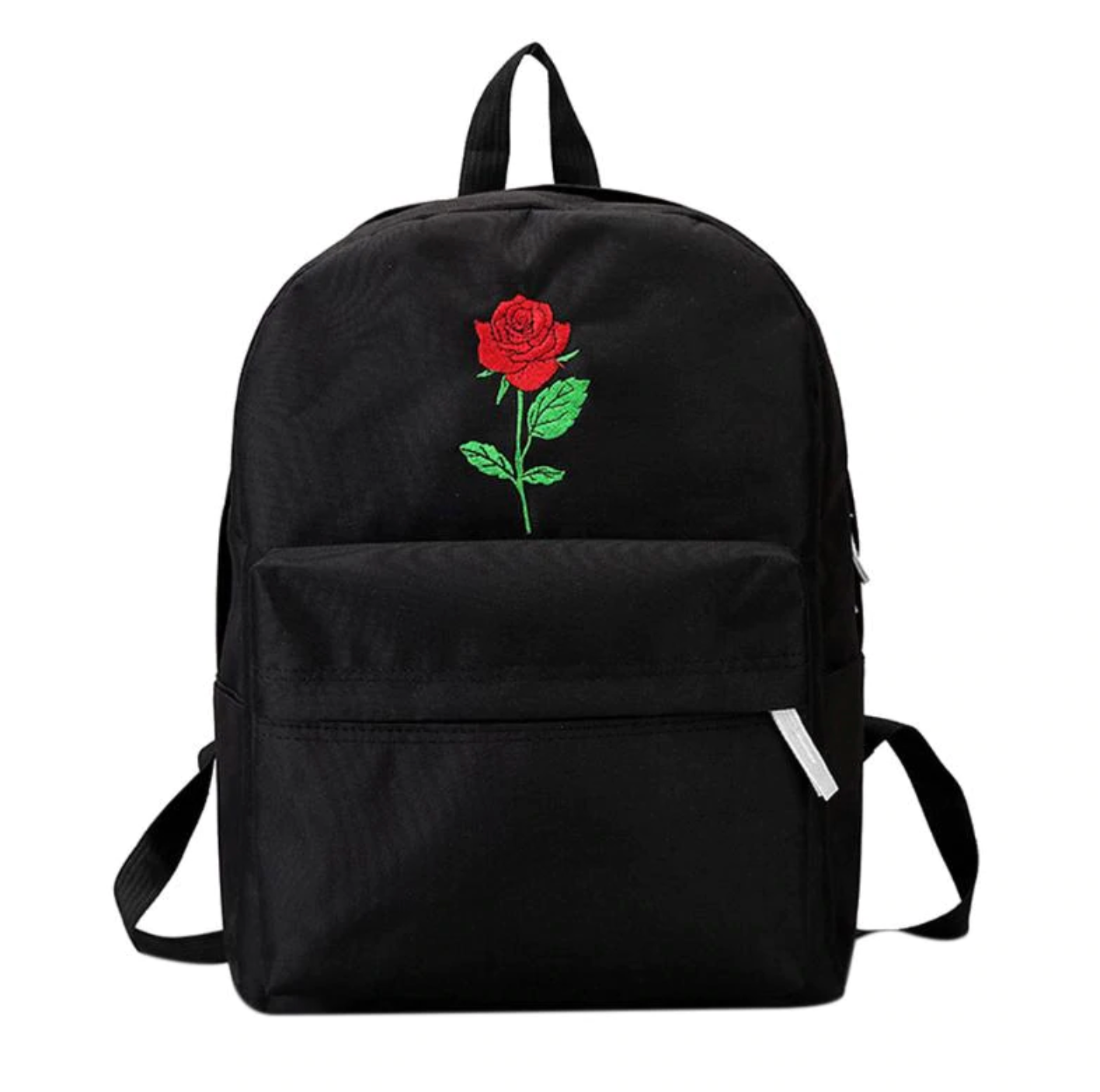 3fa20a7ec5a3 Women Backpack with Red Rose