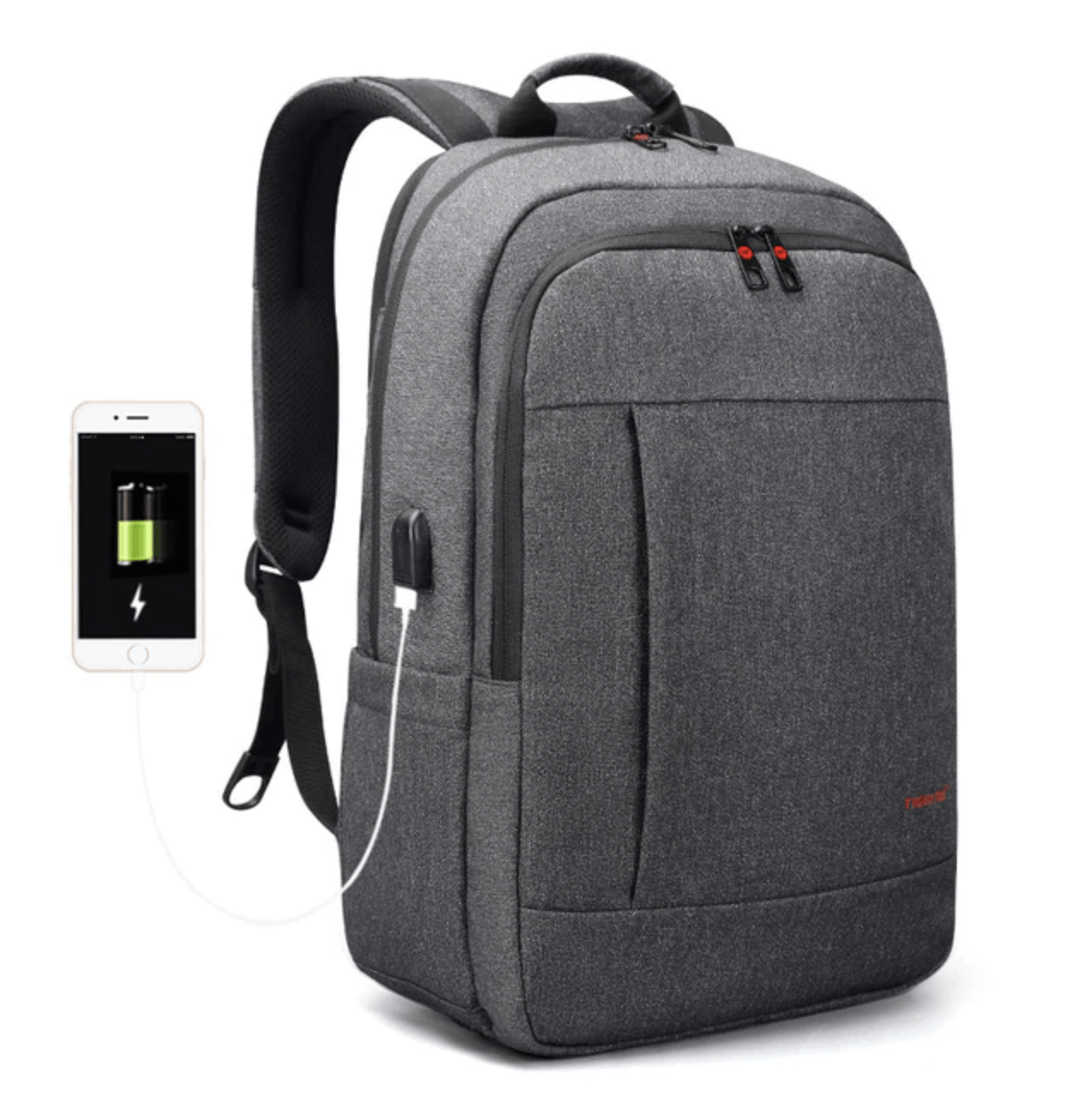 fafed7135520 Anti thief usb backpack inch laptop for men cool school backpacks png  1276x1278 Cool backpacks for