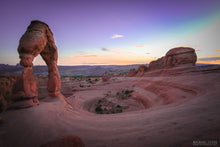 """DELICATE ARCH"" archival photo print by Michael Cuffe - OPEN EDITION - 8.5"" x 11"""