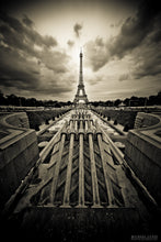 """THE EIFFEL"" archival photo print from Michael Cuffe - OPEN EDITION - 8.5"" x 11"""