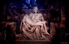 """MICHELANGELO'S PIETA"" archival photo print by Michael Cuffe - OPEN EDITION - 8.5"" x 11"""