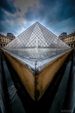 """THE LOUVRE"" archival photo print by Michael Cuffe - OPEN EDITION - 8.5"" x 11"""
