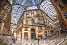 """Galleria Umberto I"" archival photo print by Michael Cuffe - OPEN EDITION - 8.5"" x 11"""