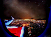 """NIGHT FLIGHT"" archival photo print by Michael Cuffe - OPEN EDITION - 8.5"" x 11"""