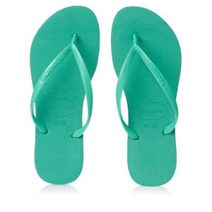 Havaianas SLIM Women's Flip Flop Sandals MINT GREEN