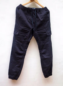 Pimp Kicks Jogger Pants Black 6 Pocket - Pimp Kicks