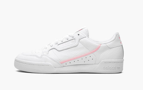 Adidas Continental 80' Core White Pink Women's
