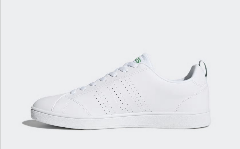 Adidas NEO Val Clean White Green Men's