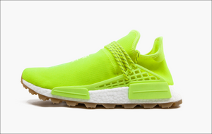 Adidas NMD Pharrell Human Race Trail Know Soul Volt Gum Sole Men's