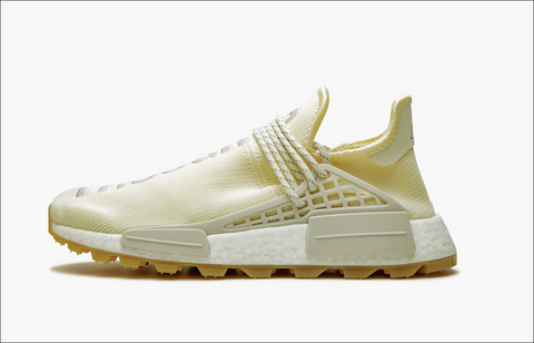 Adidas NMD Pharrell Human Race Trail  Now Is Her Time Cream White Men's