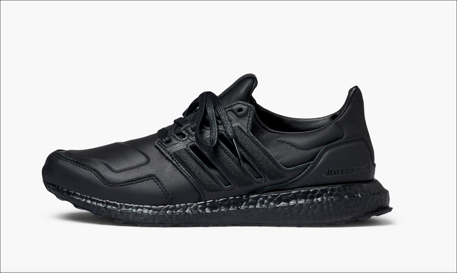 Adidas Ultra Boost Leather Black Men's