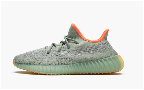 Adidas Yeezy Boost 350 Low Desert Sage V2 Men's (Non-Reflective)