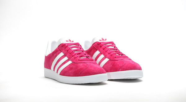 Adidas Gazelle Scarlet Pink Junior - Pimp Kicks