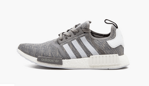 Adidas NMD R1 Glitch Solid Grey Men's - Pimp Kicks