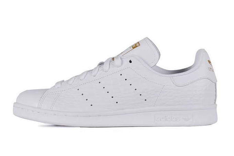 Adidas Stan Smith White Gold Croc  Men's